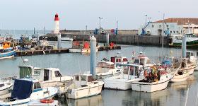 visite du port d ela Cotinière à Oléron