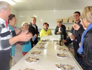 Degustation huitres - découverte de l'ostréiculture