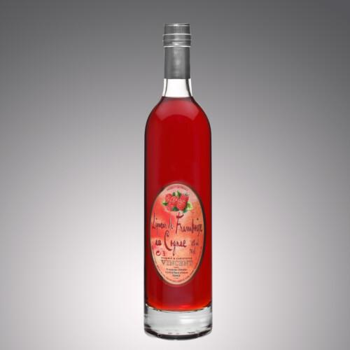 Liqueur au cognac Vignoble Vincent aromatisée framboise