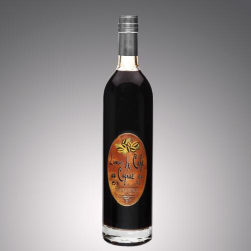 Liqueur au cognac Vignoble Vincent aromatisée café
