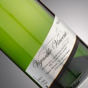 vin pétillant tradition blanc brut Vignoble-Vincent