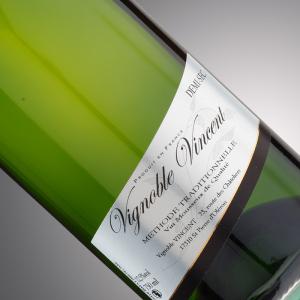 vin pétillant tradition blanc demi-sec