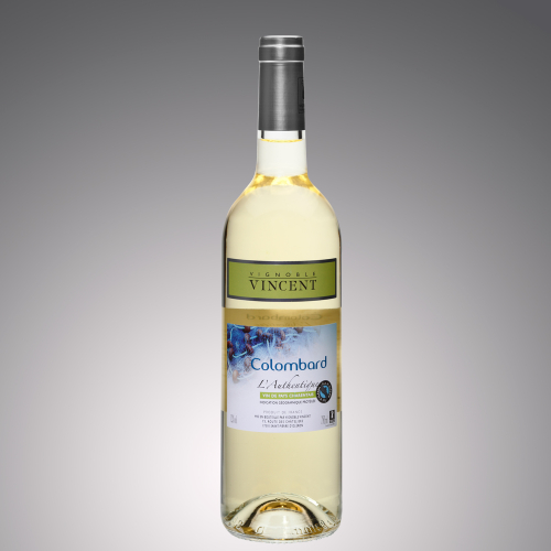vin blanc l'authentique colombard Vignoble Vincent