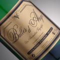 vin pétillant bulles d'ange blanc