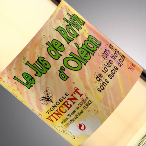 jus de raisin d'oléron sans sucre Vignoble-Vincent