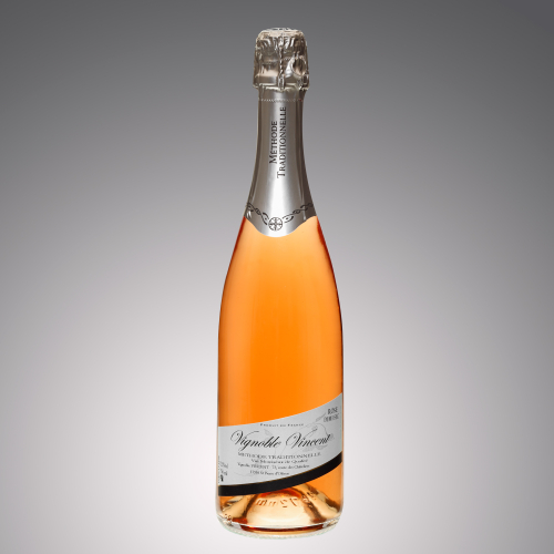 vin pétillant tradition rosé demi-sec