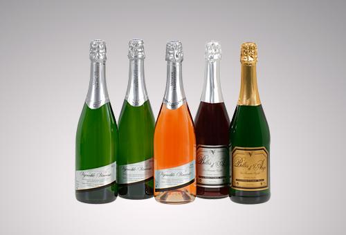 gamme vins pétillants Vignoble Vincent