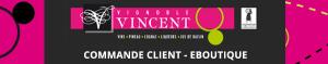 entête commande e-boutique Vignoble Vincent