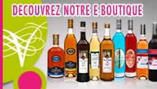 Accès à l'e-boutique Vignoble Vincent