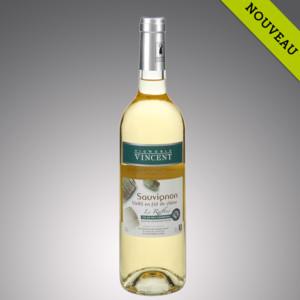 Sauvigon le raffiné - vieilii en fût de chêne Vignoble Vincent