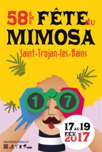 affiche fête du mimosa 2017