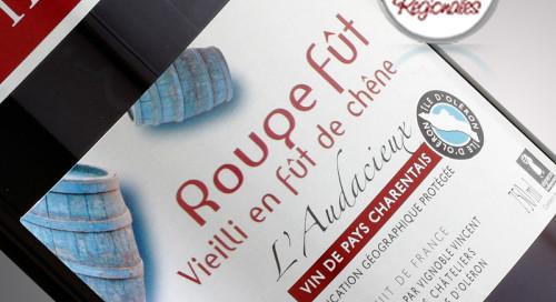 vin rouge audacieux médaillé au concours des saveurs régionales de 2017