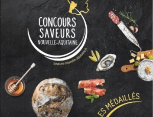 Vignoble VINCENT médaillé d'argent  2017 au Concours Saveurs Nouvelle Aquitaine