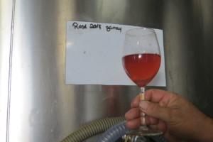 jeune vin rosé