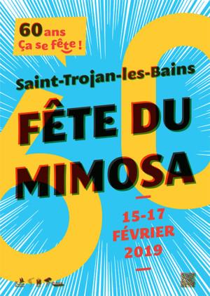 affiche fête Mimosa 2019