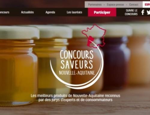 Saveur d'Argent au Concours des Saveurs Nouvelle Aquitaine